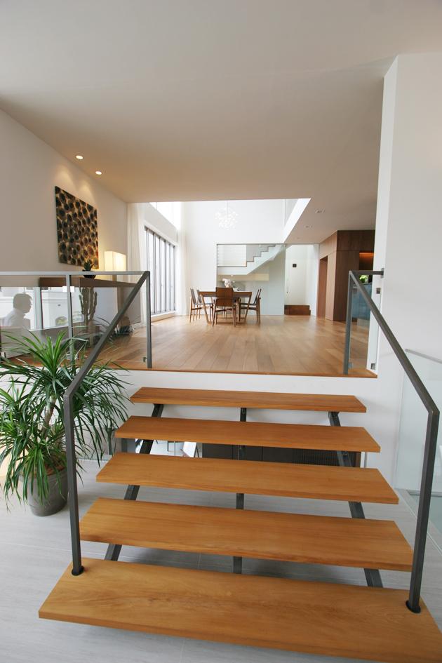 2階スキップ階段